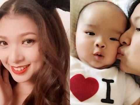 tin tuc sao viet_Phạm Thanh Thảo khoe con trai 6 tháng tuổi đáng yêu