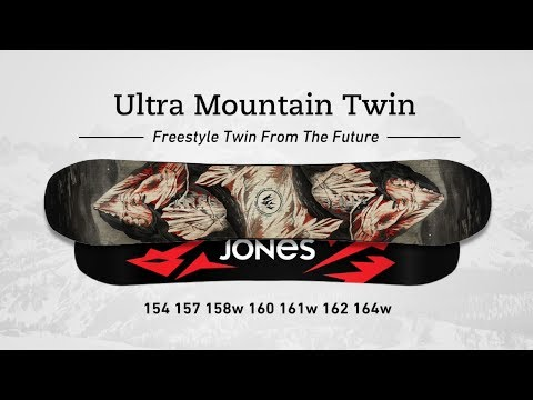 Jones Ultra Mountain Twin Snowboard 160