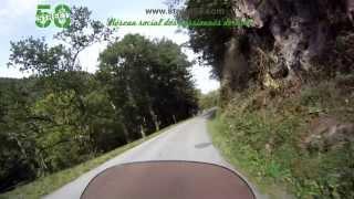 Roadbook moto Puy-de-Dôme : Gorges de la Sioule