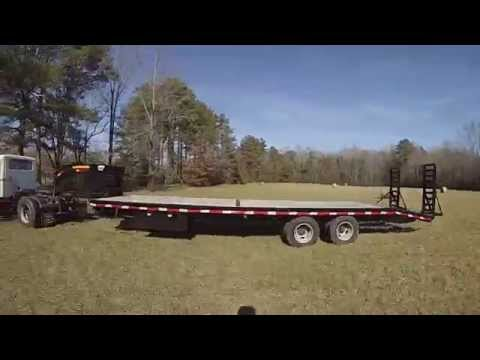 Hauling Hay via Truck, Trailer and Tractor, GoPro Style