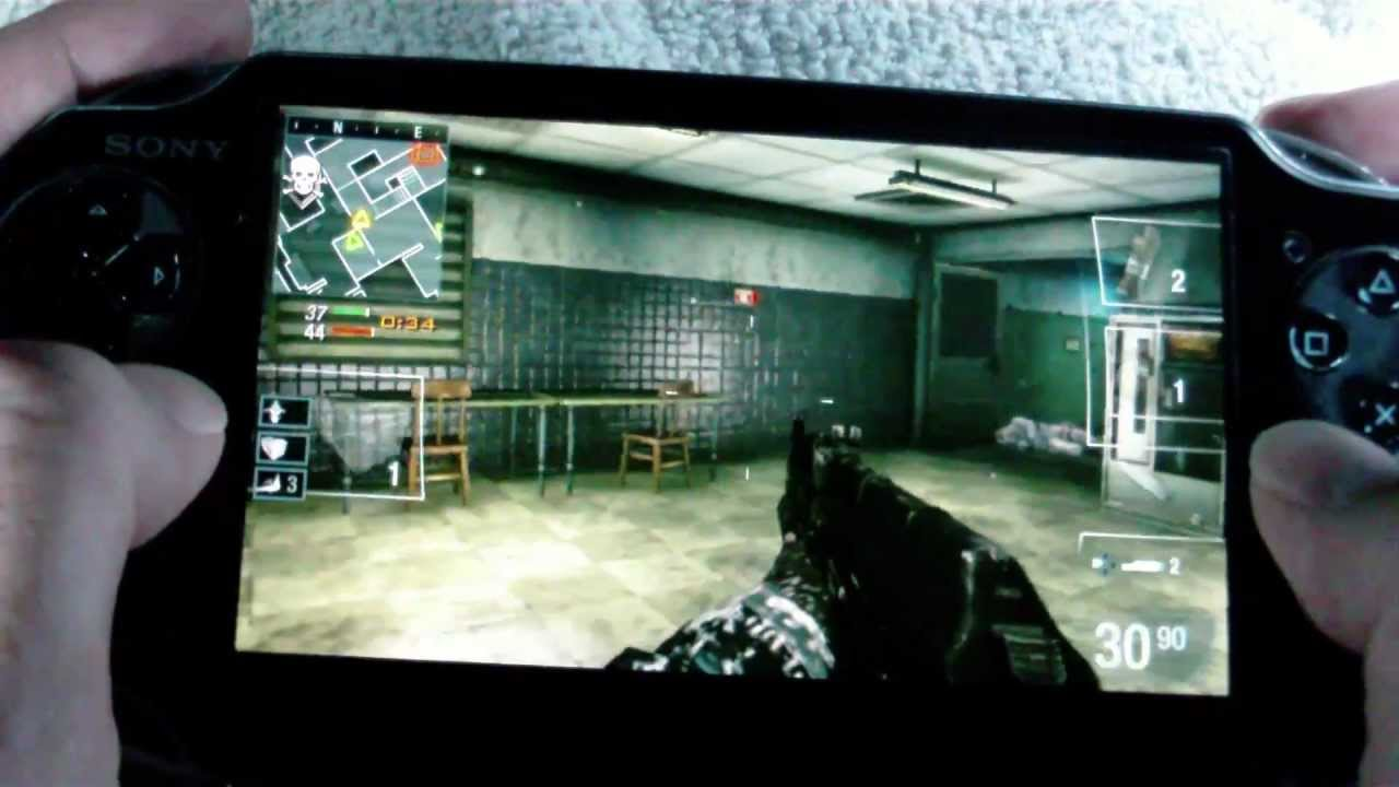 Playstation Vita Call Of Duty : Ps vita review call of duty declassified youtube