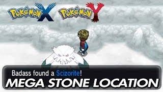 Pokemon X & Y Where To Find Scizorite / Location