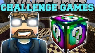 Minecraft: EVIL SSUNDEE CHALLENGE GAMES - Lucky Block Mod - Modded Mini-Game