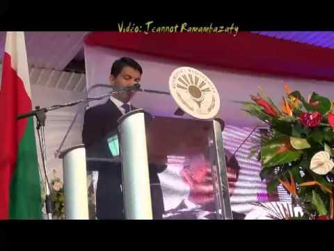 Andry Rajoelina. Kabary farany, 24.01.2014