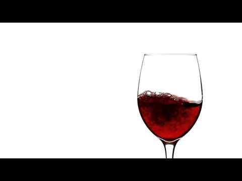 Pouring Red Wine Into Empty Wine Glass in Slow Motion -rXNgvnpCDJA