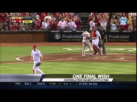 Centerville man sees Homer Bailey no-hitter before passing away