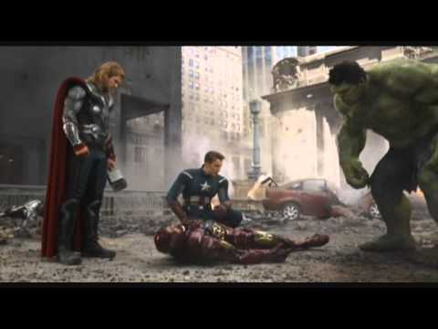 The Avengers: The Hulk saves Iron-Man 720pHD