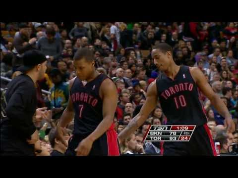 DeMar DeRozan Leads the Raptors Over the Nets