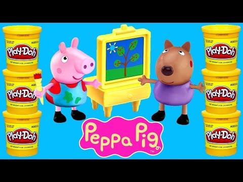 PEPPA PIG Play Doh Episodes ★ Peppapig Toy Videos 2015 Plastilina DCTC