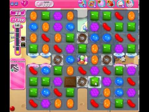 How to beat Candy Crush Saga Level 162 - 2 Stars - No Boosters - 79