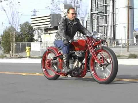 2011 Indian Motorcycles Kiwi Indian Board Track Racer