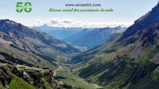 Roadbook moto Hautes Alpes : Col du Galibier