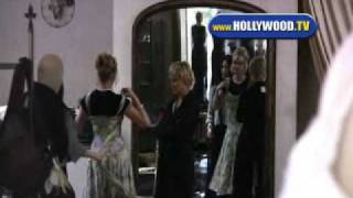 Sharon Stone And Melanie Griffith Spotted At The Ivy