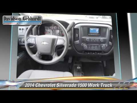 New 2014 Chevrolet Silverado 1500 Work Truck - Loveland Denver Boulder