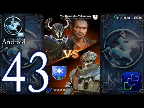 Rival Knights Android Walkthrough - Part 43 - League V: The Honorable Takamura