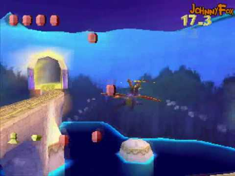 Spyro the Dragon -29- Icy Flight, Last flight level of the game... OR IS IT?! No. But the last flight level kicks major ass, unlike this and the earlier ones. This one's easy, though. You got...