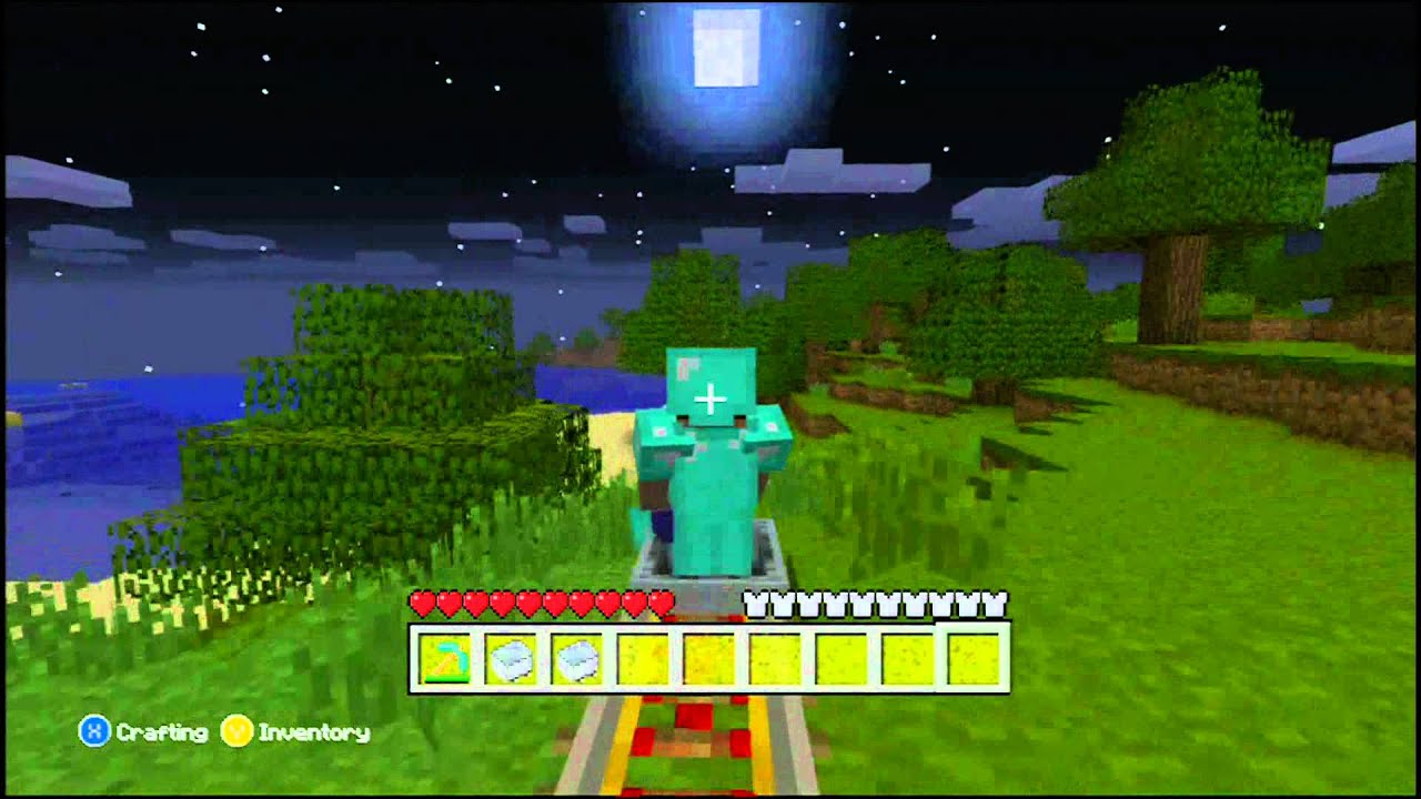 how to make power rails in minecraft
