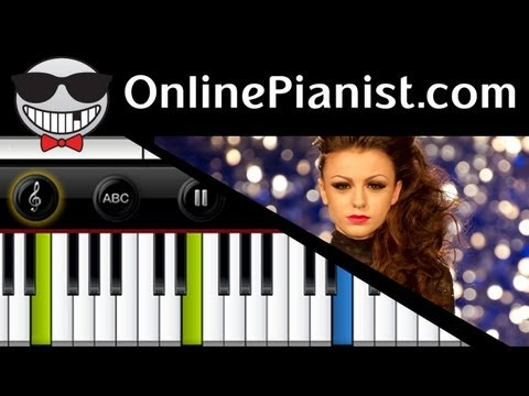 Cher Lloyd - Want U Back Piano Tutorial Video