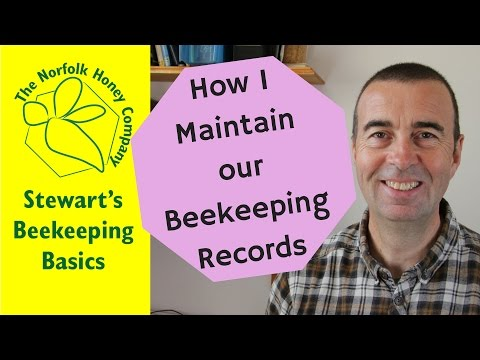 Maintaining Beekeeping Records. #Beekeeping Basics - The Norfolk Honey Co.