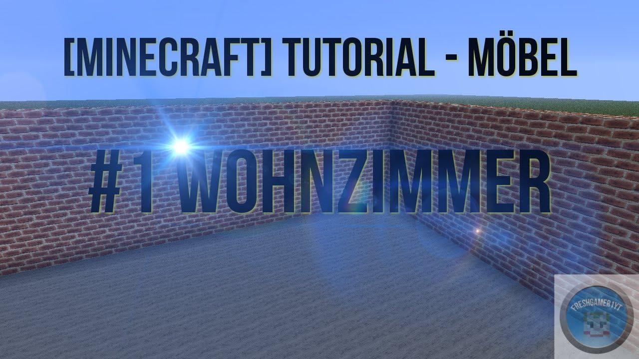 Minecraft tutorial m bel 1 wohnzimmer youtube - Minecraft wohnzimmer ...