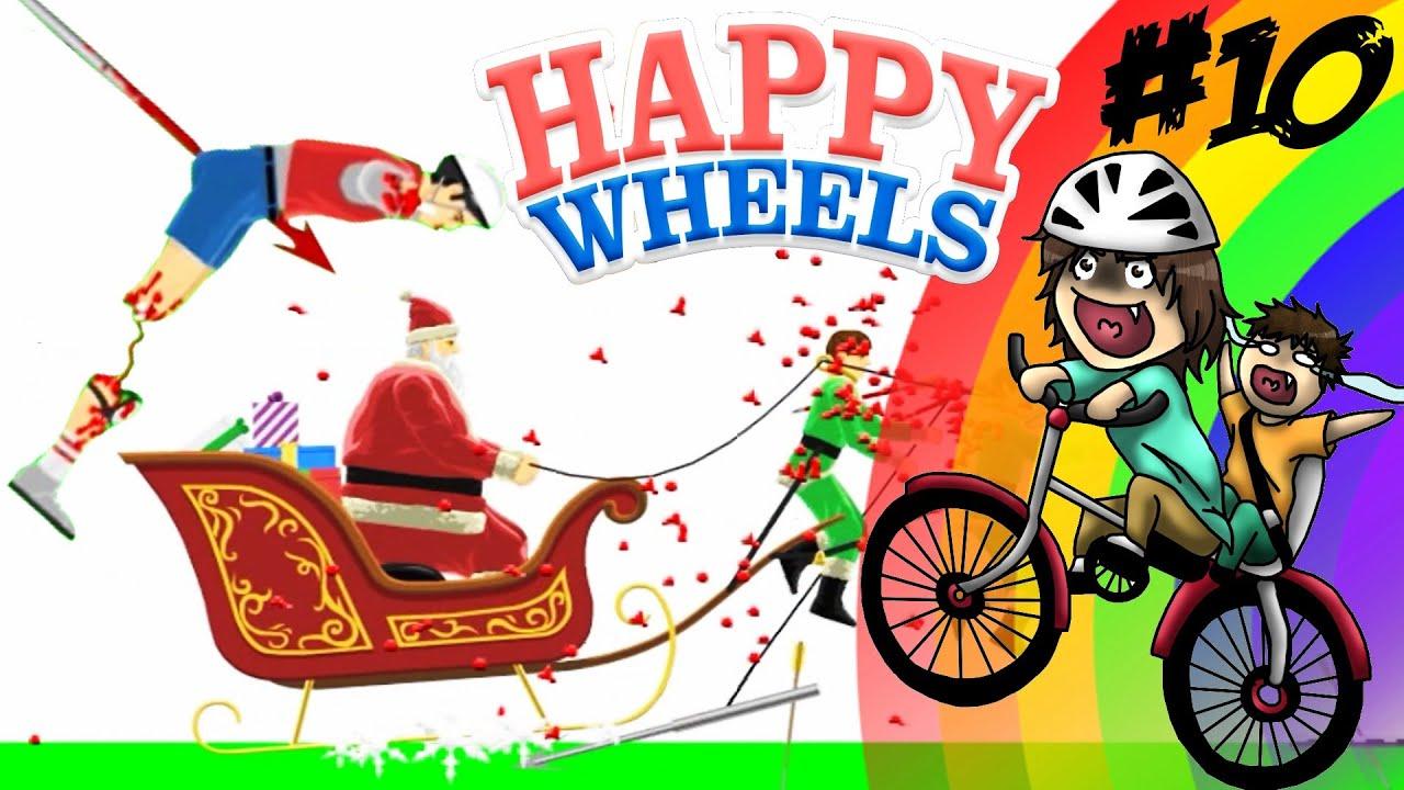 happy wheels 10