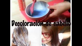 Decolorar cabello en casa