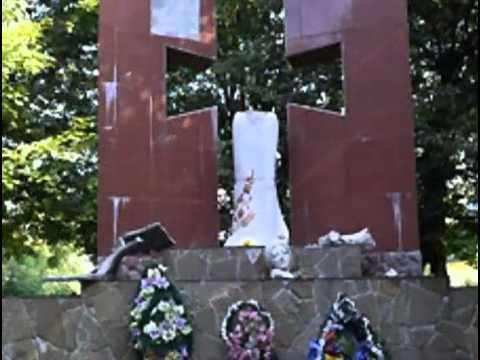 НТА-Новини-Львів: 20.08.2013 - Пам'ятник воїнам УПА знищили у Раві-Руській