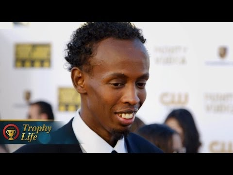 Barkhad Abdi Reacts to Oscar Nomination for Captain Phillips - Critics' Choice Movie Awards 2014