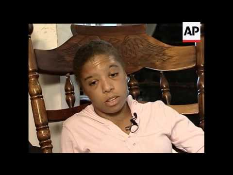 The 23-year-old West Virginia woman who was tortured and beaten by six white people speaks to the As