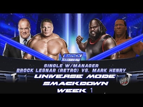 2K14 - Universe Mode SmackDown Week 1 - The Usos vs The Real Americans