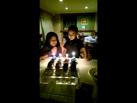 Trick bday candles for jr.