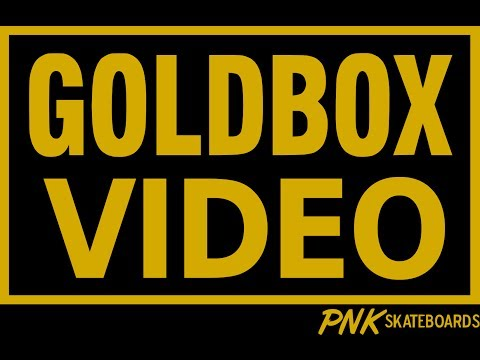 PNK SKATEBOARDS - GOLDBOXVIDEO
