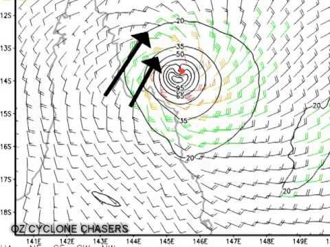 Aussie Cyclone Update Ita landfall update 11 April