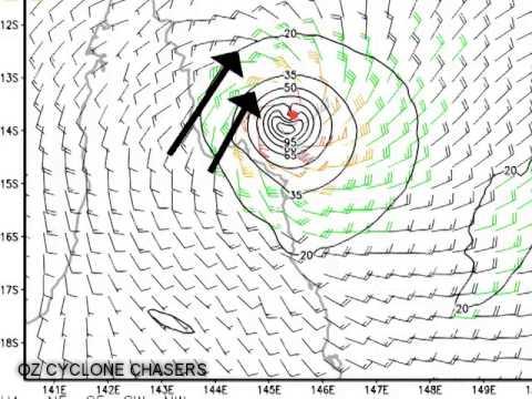 Aussie Cyclone Update Ita landfall update 11 April