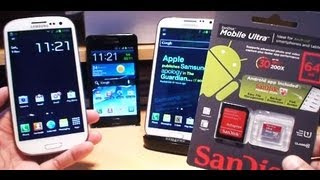 64GB SanDisk Ultra Micro SD Card Test On Samsung Galaxy S2