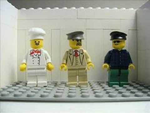 Eddie Izzard Death Or Cake Lego