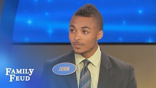 Steve meets his new SON-IN-LAW! | Family Feud