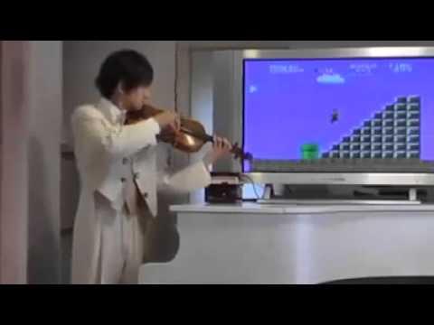 Nghe Nhạc Nền Của Mario Bằng Đàn Violong Có Vẻ Hay Hơn Nhỉ (y)