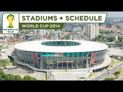 FIFA World Cup 2014 Brazil - All Stadiums (HD)