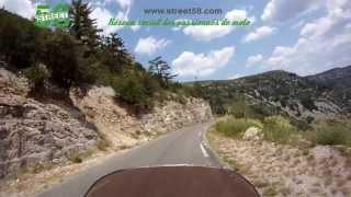 Roadbook moto Gard : Le Cirque de Navacelle