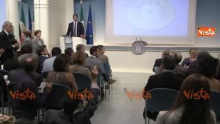 RENZI CONF SBLOCCA ITALIA E RIFORMA GIUSTIZIA IMMAGINI 29-08-14