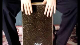 Aprende a tocar el cajón flamenco. Lección 4