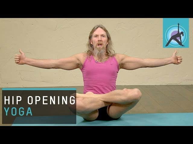 Hip opening Yoga, Flying Eagle Pose with Andrew Wren