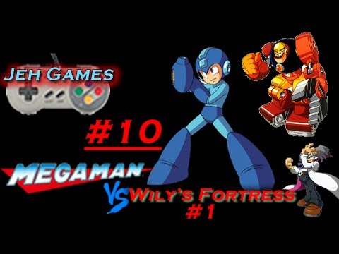 Jeh Games: Megaman 7 Wily\'s Fortress #1 Stage #10