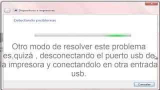 Solucionar  Impresora sin conexión  HP  HD español
