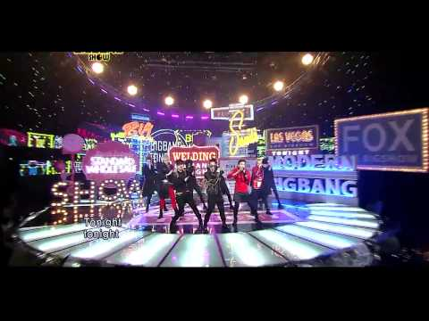 Big Bang 'TONIGHT' live on 2011 BIGSHOW