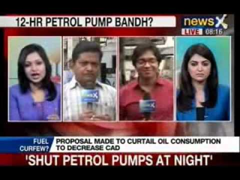 Veerappa Moily's austerity plan to shut petrol pumps at night