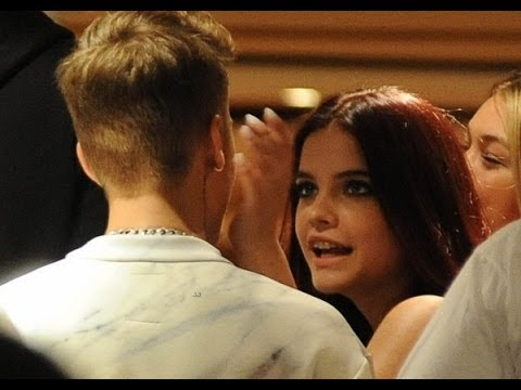 Justin Bieber And Barbara Palvin in Cannes 2014