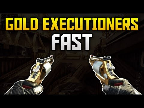 The Best Way To Get Gold Camo Executioners Fast! (Call of Duty BO2 Multiplayer Gameplay)