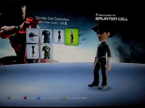 Conviction на Xbox 360 Avatar Marketplace